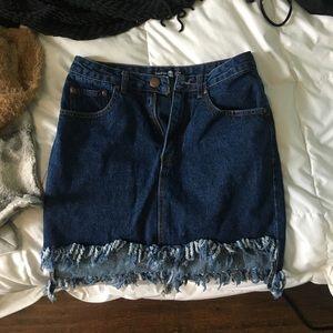 Blue Jean skirt size 4